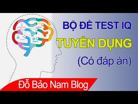 50 câu hỏi test IQ tuyển dụng có đáp án của Viettel mới nhất