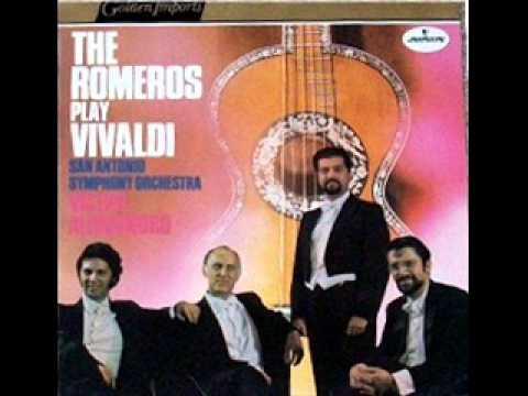 The Romeros Play Vivaldi   (1968 Full Vinyl Album)