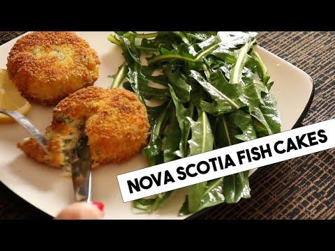 Nova Scotia Fish Cakes With Smoked Mackerel And Herbs