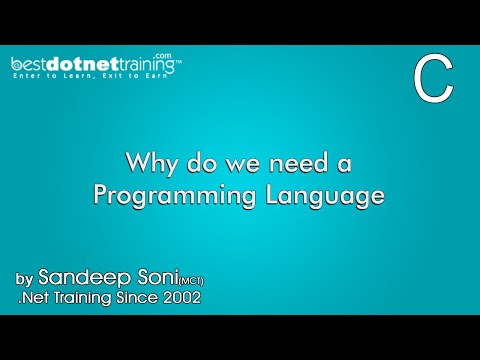 What is C Programming language why we need ?  - C Training