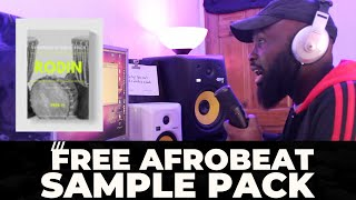 FREE AFROBEAT SAMPLE PACK - RODIN DRUM & MELODIES LOOPS, ROLLS, CHANTS BY KG BEATZ