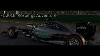 Lets Play: F12016 Rosbergs adventure - Spanien.
