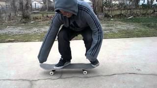 KICKFLIP FOOT POSITION SKATE SUPPORT