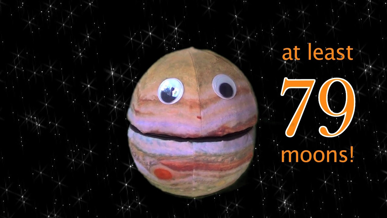 Jupiter Moon Update! 79 and Counting! - YouTube