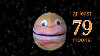 Jupiter Moon Update!  79 and Counting!
