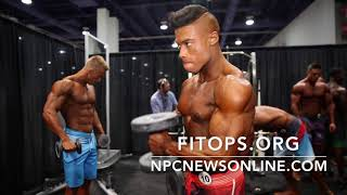 2017 IFBB Men's Physique Olympia Backstage Pt.1