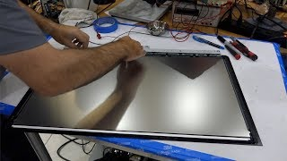 "Modern Tech Fail: iMac 27"" Retina 5k Display Panel Tear Down"