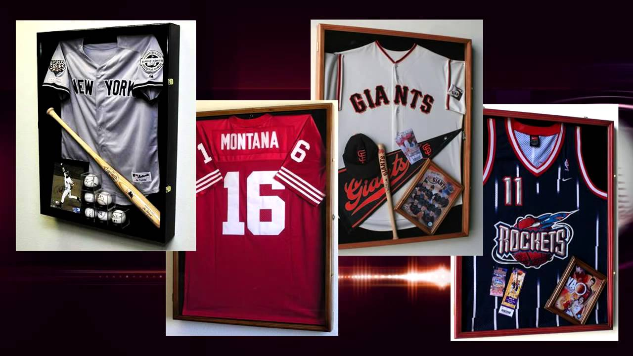 e4514740251 Shadow Box Jersey Frames - YouTube