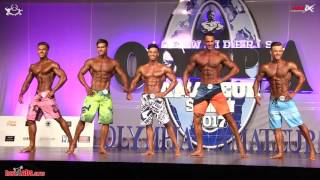2017 Olympia Amateur Spain MENS PHYSIQUE Overall