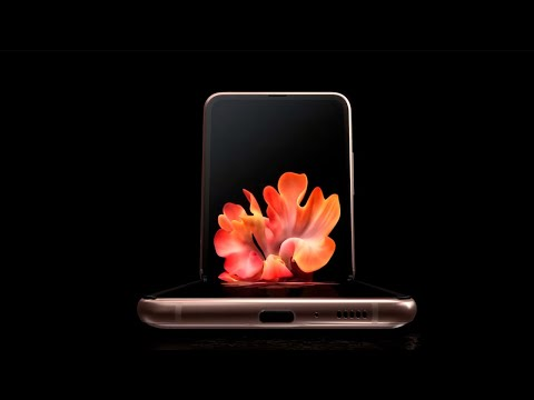 This is the new Samsung Galaxy Z Flip 5G