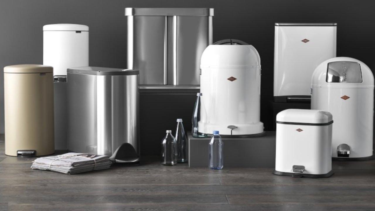 5 Best Touchless Kitchen Trash Cans 2020 | Bathroom Trash Cans | Smart Trash Bins 2020