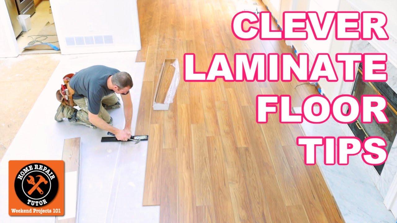 Laminate Floor Installation For