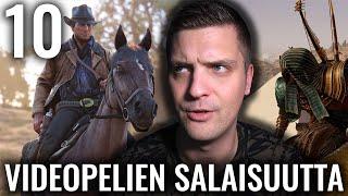 10 VIDEOPELEIHIN KÄTKETTYÄ SALAISUUTTA #3