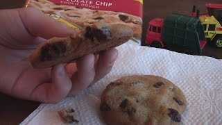 Toy Trucks And Chocolate Chip Cookies!
