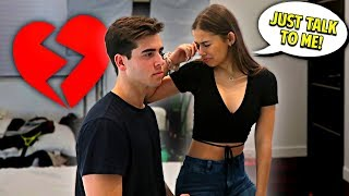 Ignoring My Girlfriend For 24 Hours!! *she cried*