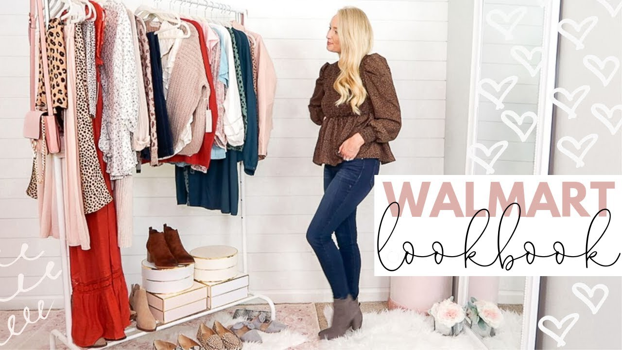 WALMART LOOKBOOK FALL OUTFIT IDEAS | FALL FASHION 2019 | Amanda John 5