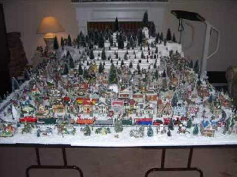 dollar tree village 2013 youtube - Christmas Tree Village