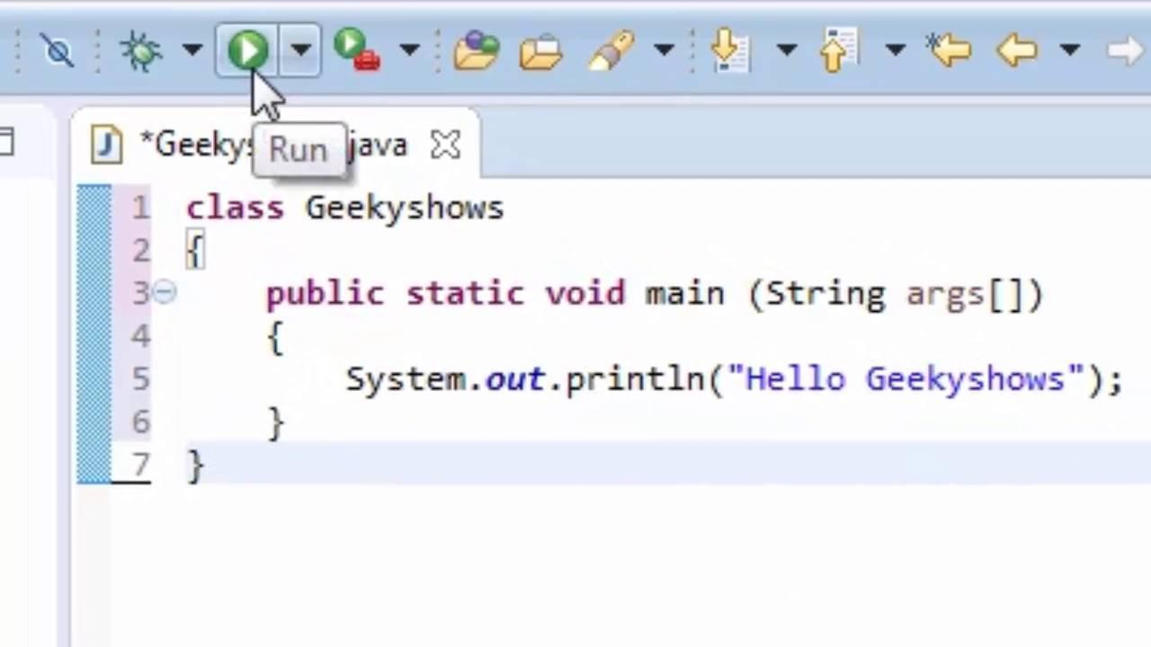 16  How to Run Java Program in Eclipse (Hindi)