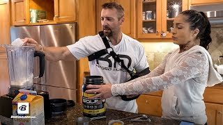 Peachy Mandarin High-Protein Smoothie Recipe | Kris Gethin