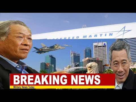 Breaking News: Strengthen Defense,Singapore moves to buy four F 35s, possibly eight more afterward