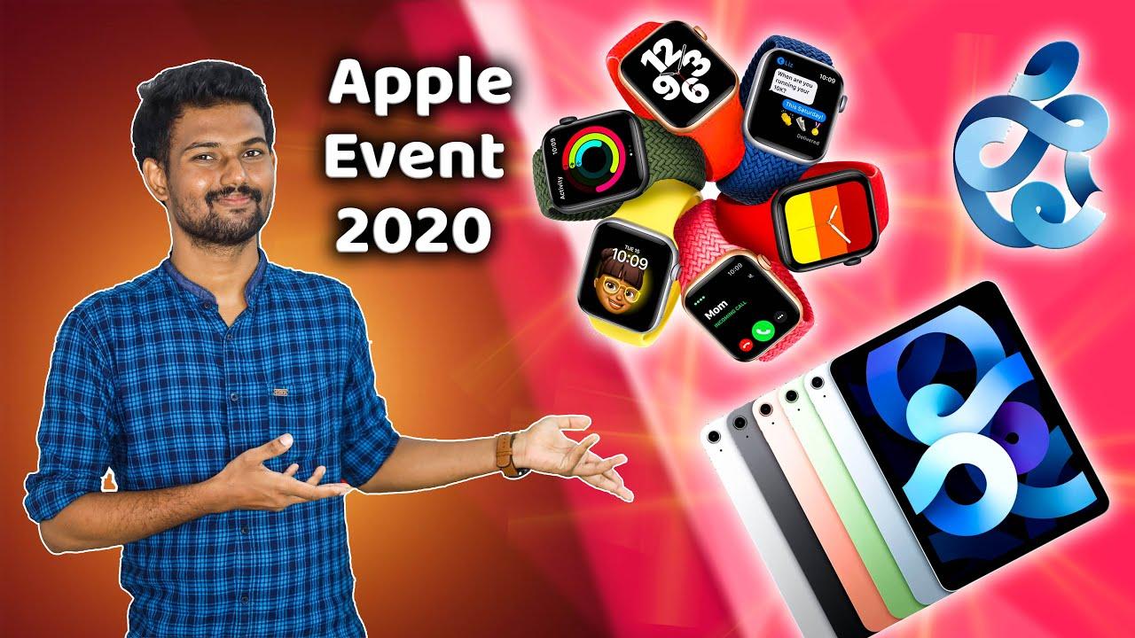 Apple Event🍎 - வெளிவந்த புது Gadgets! | Apple Event 2020(Watch 6,SE,iPad Air) Explained | TechBoss
