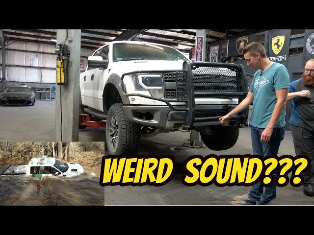 Heres Everything Thats Broken On My Cheap BORDER PATROL Ford Raptor