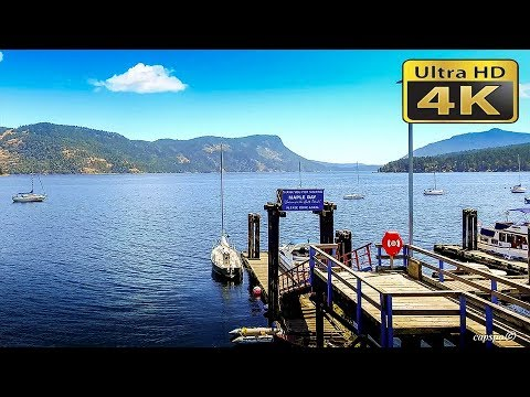 4K  Maple Bay Duncan Vancouver Island  British Columbia Canada