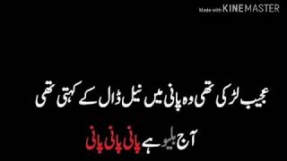 Funny Poetry & Quotes in Urdu 6