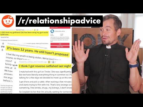 British Priest Gives Relationship Advice on Reddit?!