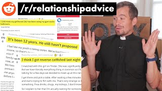 English Priest Gives Relationship Advice on Reddit?!