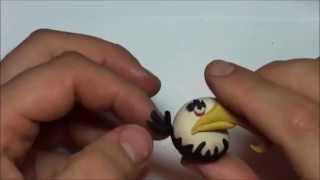 Лепим Angry Birds из пластилина