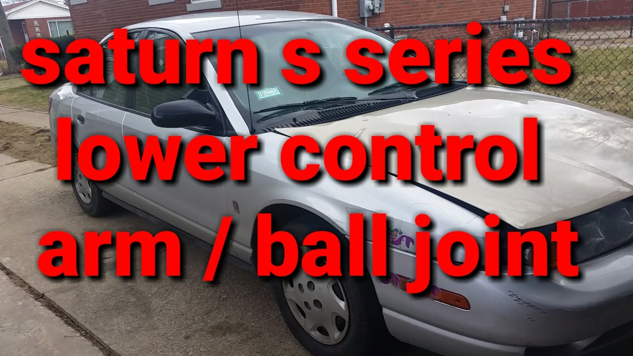 96 02 saturn s series lower control arm ball joint youtube96 02 saturn s series lower control arm ball joint