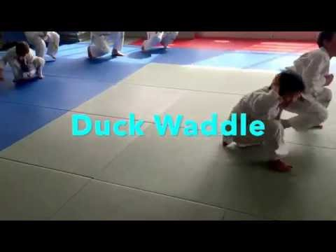 JUDO Kids class discipline &  muscle building exercise routines