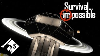 Survival Impossible - The Long Arm of the Lawn-Chair #34 - Space Engineers Hardcore Survival