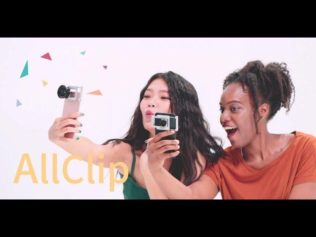 AllCLIP + Premium HD Wide Angle Lens video thumbnail