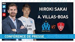 VIDEO: OM - Brest La conférence d'Hiroki Sakai & d'André Villas-Boas