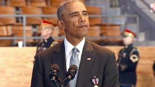 Full event. President Obama speech at Armed Forces Farewell Ceremony. Jan. 4, 2017. Free HD Video