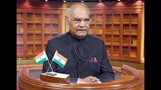 President Kovind addresses the nation on the eve of the 69th Republic Day