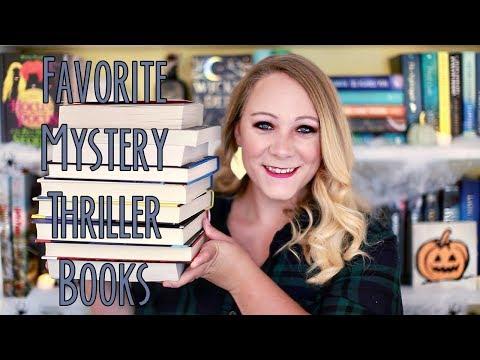 FAVORITE MYSTERY/THRILLER BOOKS!!