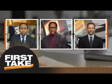 Stephen A., Tracy McGrady and Max have LeBron James vs. Michael Jordan debate  First Take  ESPN