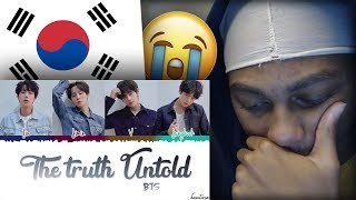 FIRST REACTION | BTS (방탄소년단) - 'THE TRUTH UNTOLD' (Feat. Steve Aoki)