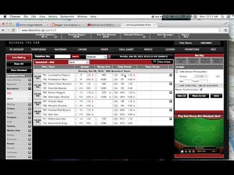 How to bet wager on betonline.ag sportsbook