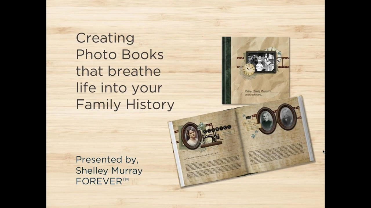 creating photo books that breathe life in your family history youtube