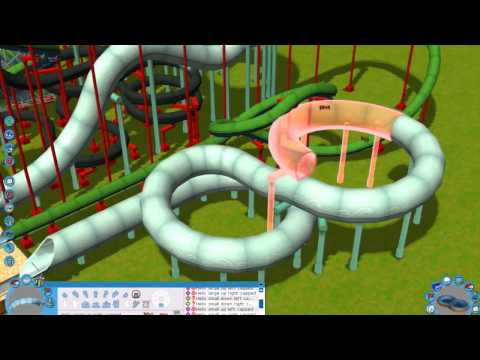 Building an indoor water park in RCT3