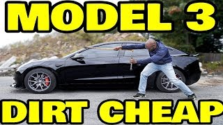 How to build yourself a Tesla Model 3 on the Cheap!