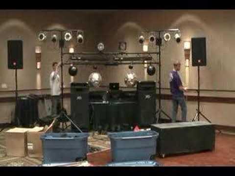 Light Brothers Mobile DJ setup log 1  YouTube