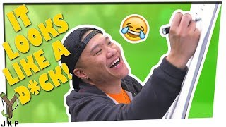 IT LOOKS LIKE A D!*K | Write And Draw ft. Timothy DeLaGhetto