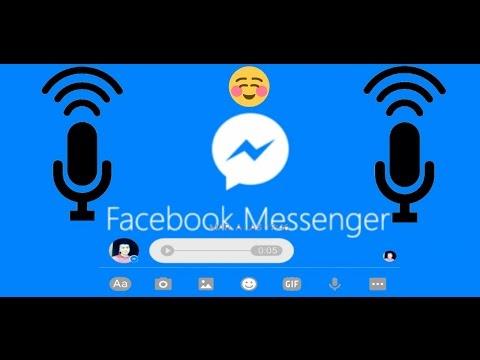 Como Descargar Audios de MESSENGER Facebook