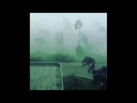 Heavy rains and high winds as Cyclone Mekunu hits Salalah