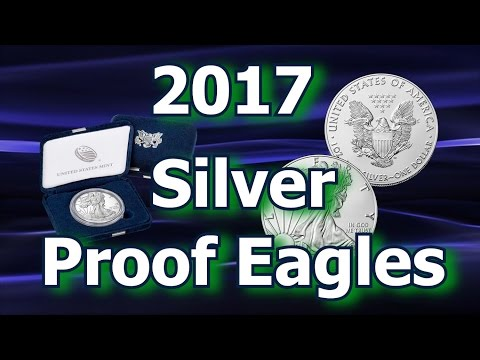 U S  Mint Releases 2017 Proof Silver Eagle Coins